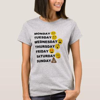 T-shirt Jours d'Emoji