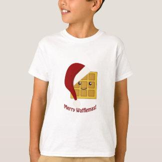 T-shirt Joyeuse gaufre de Noël de Wafflemas