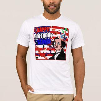 T-shirt Joyeux anniversaire George