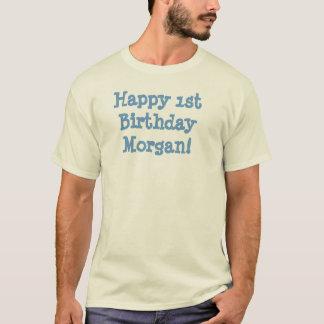 T-shirt Joyeux ęr anniversaire Morgan !