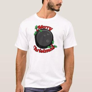 T-shirt Joyeux Noël de roulement