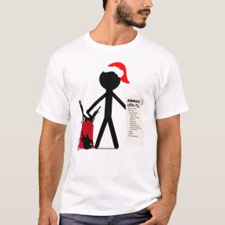 T-shirt Joyeux Noël de Stickman