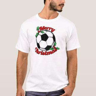 T-shirt Joyeux Noël du football