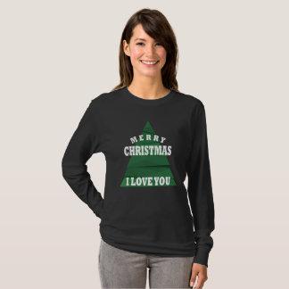 T-shirt Joyeux Noël je t'aime