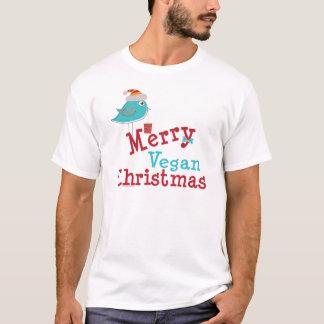 T-shirt Joyeux Noël végétalien