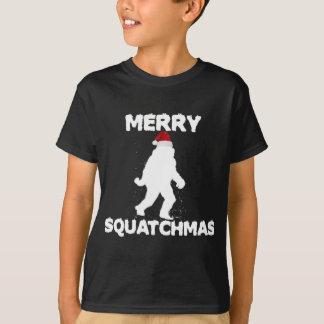 T-shirt Joyeux Squatchmas