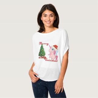 T-shirt Joyeux Unicmas (Joyeux Noël par l'intermédiaire de