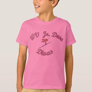 T-shirt JR divas de WV