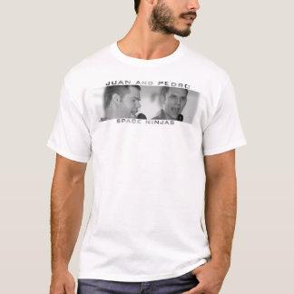 T-shirt Juan et Pedro : : ninjas de l'espace