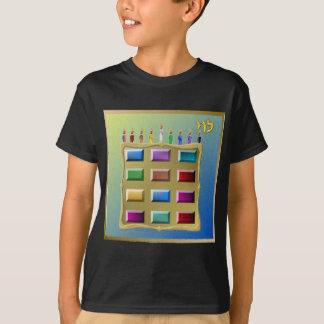 T-shirt Judaica 12 tribus de l'Israël Lévi