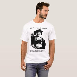T-shirt Jugez-moi et vous serez jugés !