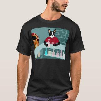 T-shirt Juke-box de whiskey de Boston Terrier