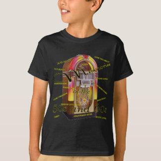T-shirt Juke-box fabuleux d'années '50