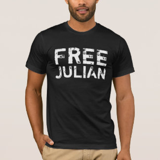 T-shirt Julian libre Assange