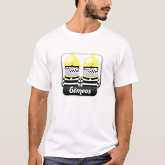 T-shirt Jumelés