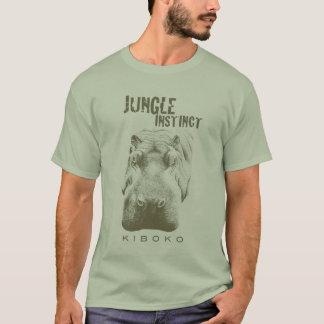 T-shirt Jungle Instinct™_Kiboko_hippo