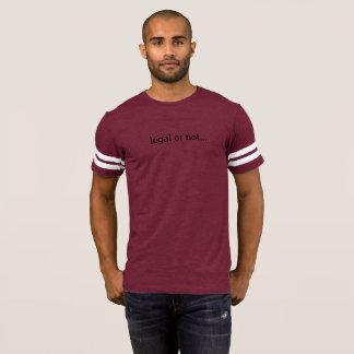 T-shirt Juridique ou pas… non