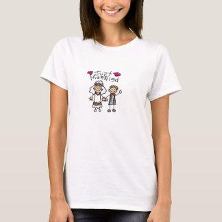 T-shirt Juste chemise mariée
