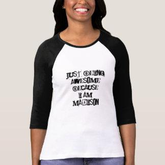 T-shirt Juste étant impressionnant parce que je suis