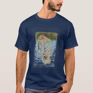 T-shirt Juste flottant le long
