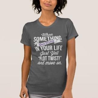 """T-shirt Juste hurlement """"torsion de complot !"""" Et"""