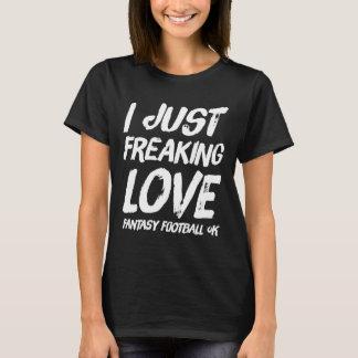 T-shirt Juste ok freaking du football d'imaginaire de