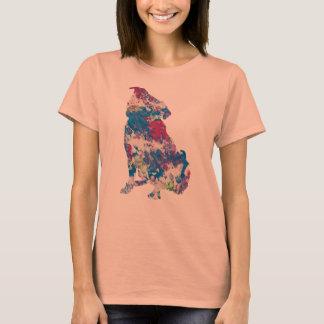 T-shirt Juste pour l'oeuvre d'art de Gina à côté de