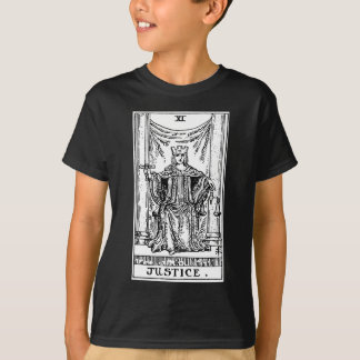 T-shirt Justice de tarot '