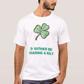 T-shirt J'utiliserais plutôt un kilt