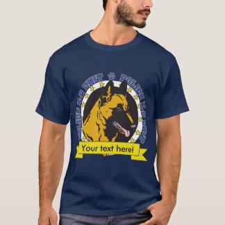 T-shirt K9 Belge Malinois