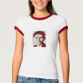 T-shirt Kafka rouge