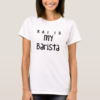 T-shirt Kai est ma chemise de barman