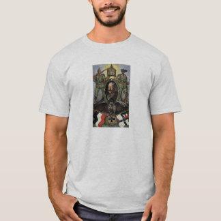 T-shirt Kaiser Wilhelm Ii - carte postale allemande de