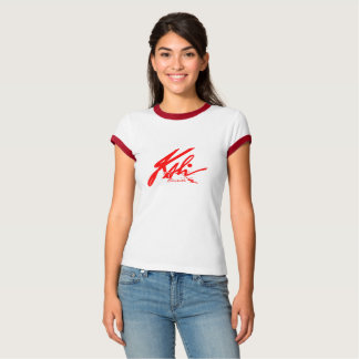 T-shirt Kali - Classy Graffiti Red for Woman