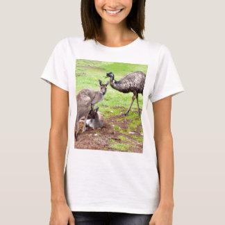 T-shirt Kangaroo_And_Emu, _