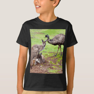 T-shirt Kangaroo_And_Emu, _
