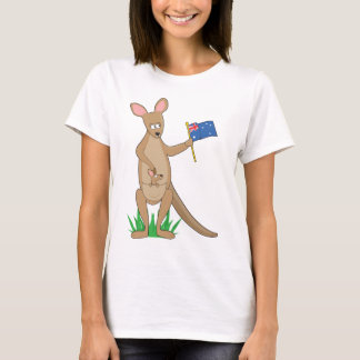 T-shirt Kangourou animal d'alphabet