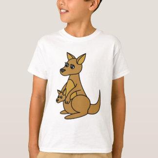 T-shirt Kangourou et Joey mignons
