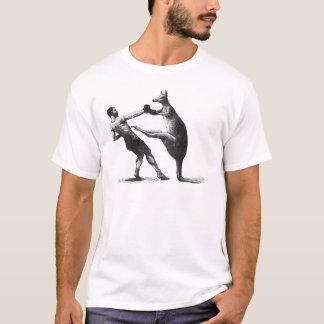 T-shirt Kangourou vintage de boxe