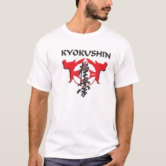 T-shirt Kanku et kanji de Kyokushin