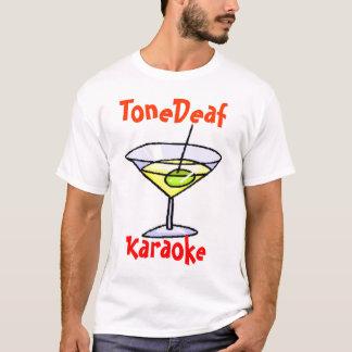 T-shirt Karaoke ToneDeaf