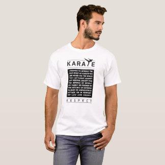 T-shirt Karaté - promesse - respect
