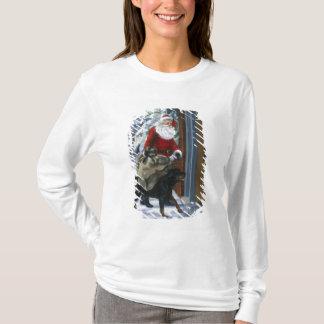 T-shirt Karl aidant le père noël de <Carl's Christmas> b