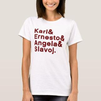 T-shirt Karl et Ernesto et Angela et Slavoj
