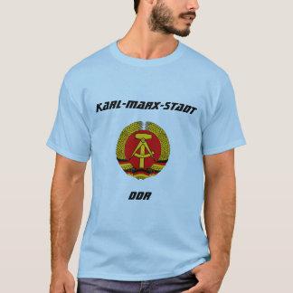 T-shirt Karl-Marx-Stadt, RDA, Chemnitz, Allemagne