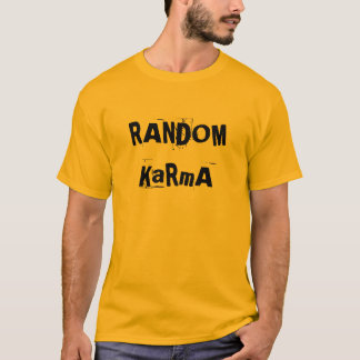 T-shirt Karma aléatoire
