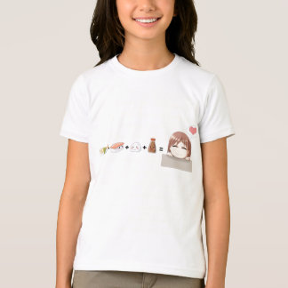 T-shirt Kawaii de sushi