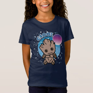 T-Shirt Kawaii Groot dans l'espace