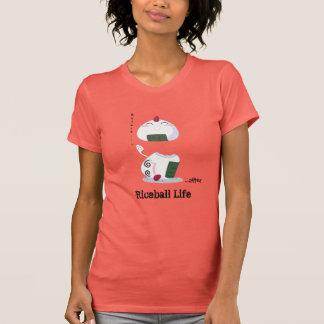 T-shirt Kawaii Riceball/Onigiri - La vie dure