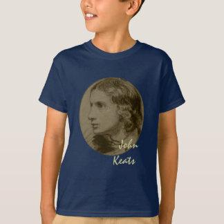 T-shirt Keats, le poète romantique